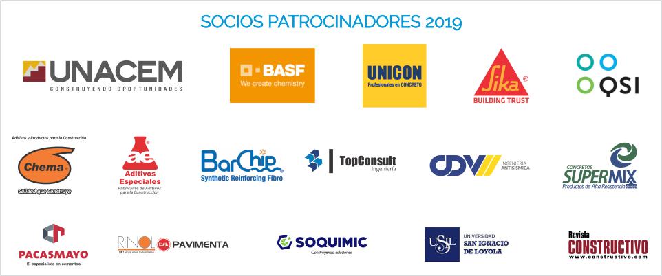 Socios Patrocinadores ACI PERU 2019
