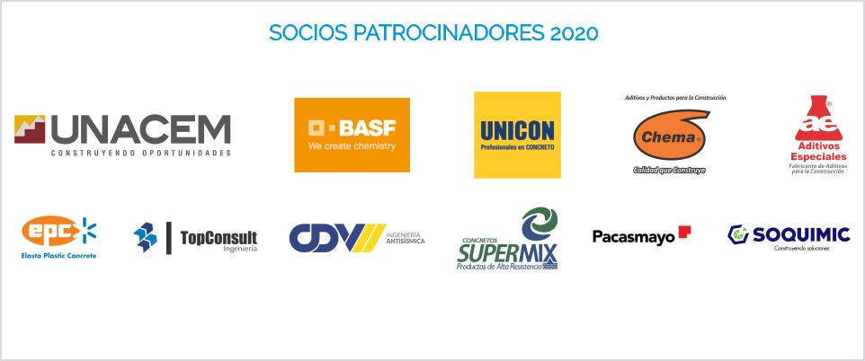 Socios Patrocinadores ACI PERU 2020