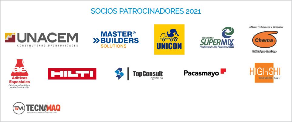 Socios Patrocinadores ACI PERU 2021