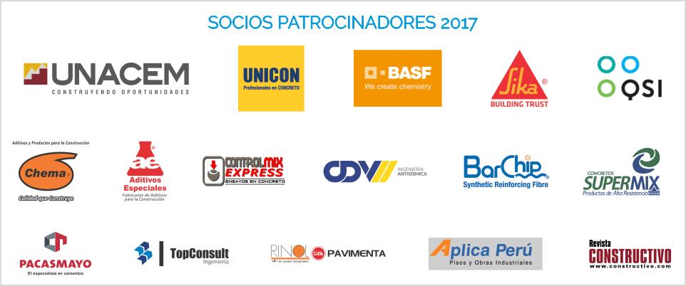 Socios Patrocinadores ACI PERU 2017